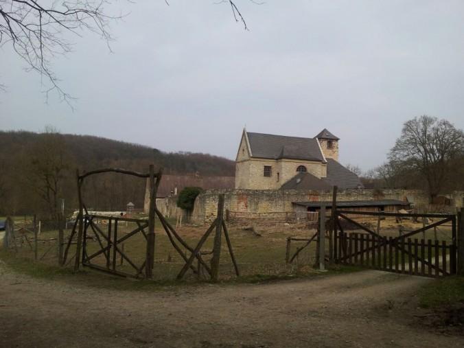 Kloster von Hinten