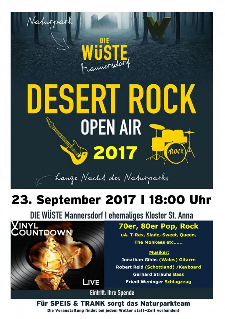 Desert Rock - Lange Nacht der Naturparke 2017